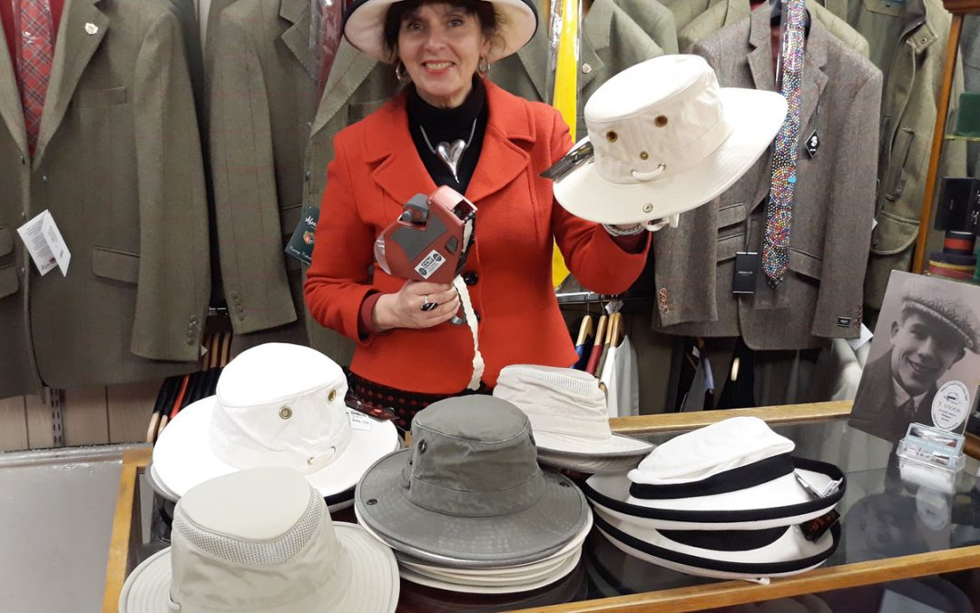 New-in Tilley Hats