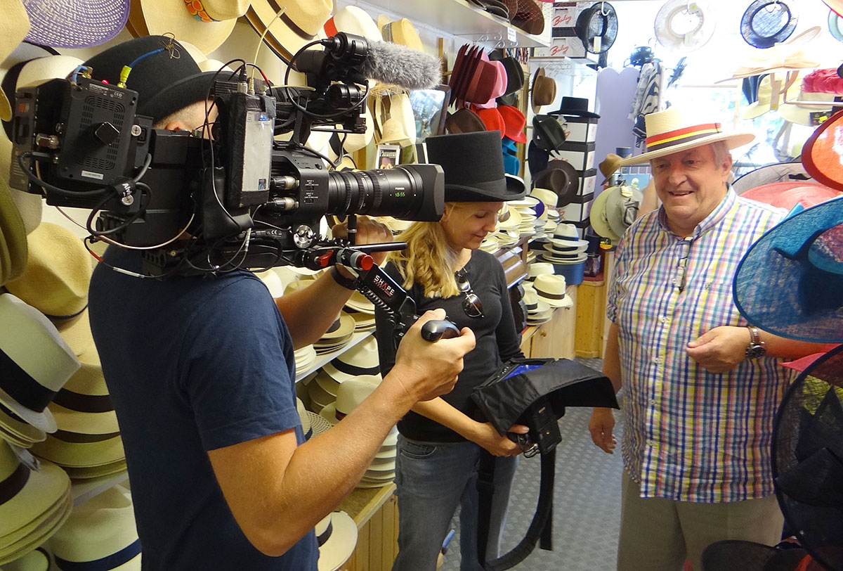 "BBC crew filming"" width="
